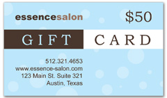 CPS-1007 - salon coupon card