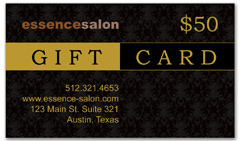 CPS-1008 - salon coupon card