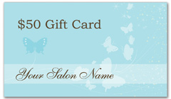 CPS-1018 - salon coupon card
