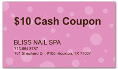 CPS-1022 - salon coupon card
