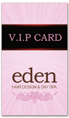 CPS-1039 - salon coupon card