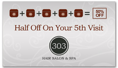 CPS-1042 - salon coupon card