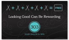 CPS-1044 - salon coupon card