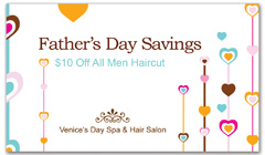 CPS-1053 - salon coupon card