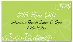 CPS-1063 - salon coupon card