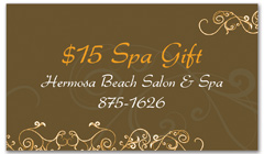 CPS-1064 - salon coupon card