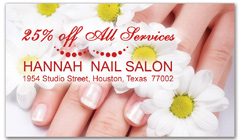 CPS-1066 - salon coupon card