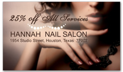 CPS-1067 - salon coupon card