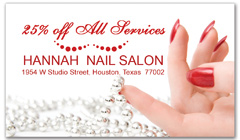 CPS-1068 - salon coupon card
