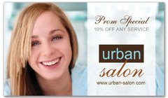 CPS-1072 - salon coupon card