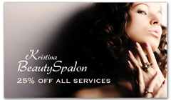 CPS-1081 - salon coupon card