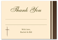 WIR-1034 - wedding thank you and response card