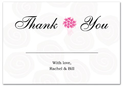 WIR-1049 - wedding thank you and response card