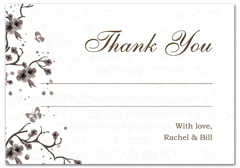 WIR-1064 - wedding thank you and response card