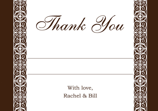 Download Printable Unique Wedding Thank You And Response Card