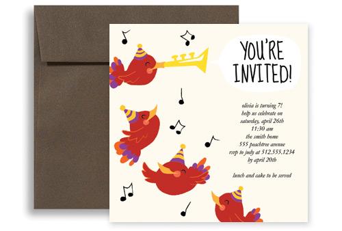 birthdaypartyinvitationsbirdsingingtrumpetlgKID1116jpg – Birthday Party Invitation Free Template