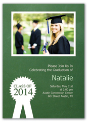 How To Make Photo Blank Graduation Announcement