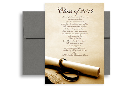 2015 Degree Photo Background Graduation Announcement Sample 5x7 in ...